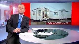 "BBC Look North ""caravan tax"" campaign"