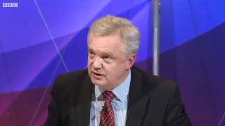 David on Question Time 22/3/2012