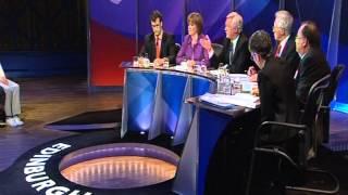 David on Question Time- Edinburgh 4/11/2010 Part 1