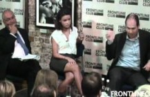 <strong>Video:</strong>David debates the 'Snooper's Charter' at The Frontline Club