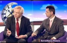 <strong>Video: </strong> MP David Davis criticises the 'Snooper's Charter' on BBC Daily Politics