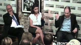David debates the 'Snooper's Charter' at The Frontline Club