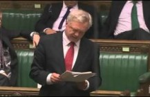 David Davis MP asks the Prime Minister about religious freedom in the workplace