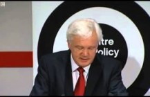 David Davis economy speech shown on Daily Politics