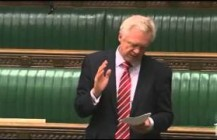 David Davis MP speaks on the use of Intercept Evidence in courts