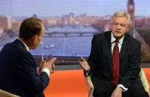 David Davis MP speaks on the Andrew Marr Show