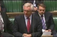 David Davis MP asks question on prisoner votes