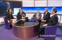 David Davis MP speaks about Leveson on The Daily Politics