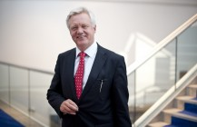 David Davis attends Westminster Hall debate