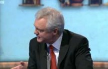 David Davis MP discusses the Andrew Mitchell case and Gay Marriage on the Sunday Politics