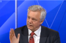 David Davis MP appears on Question Time