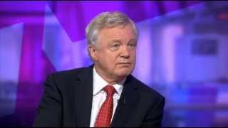 David Davis appears on Channel 4 News to discuss Andrew Mitchell inquiry leaks