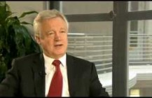 David Davis appears on BBC News talking about the Co-op bank
