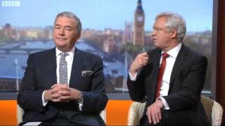 David Davis MP appears on the Andrew Marr Show discussing the Snoopers' Charter
