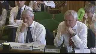 David Davis MP gives evidence to Joint Committee on the Draft Voting Eligibility (Prisoners) Bill
