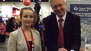 David Davis MP meets regional finalists in science and engineering fair