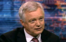 David Davis appears on BBC HARDtalk