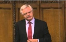 David Davis MP raises a Point of Order on the constitutional precedent made by the vote on Syria