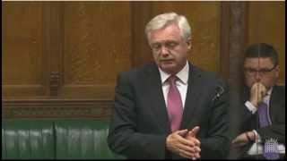 David Davis MP speaks on the proposed changes to Legal Aid