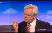 David Davis appears on  Daily Politics regarding the Plebgate affair