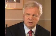 David Davis talks to BBC News over Plebgate affair