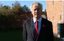 David Davis talks to ITV News about Plebgate