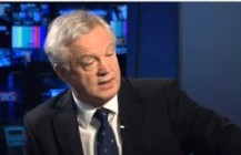 David Davis talks to Sky News over Plebgate