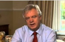 David Davis talks to Sky News over Plebgate affair