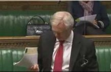 David Davis asks a question regarding Clause 47 during the Second Reading of the Deregulation Bill