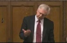 David Davis Intervenes in flooding debate on Humberside's flood defence