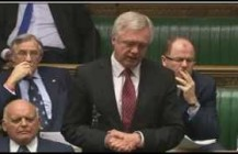 David Davis raises the issue of targeted sanctions against Russia in the House of Commons