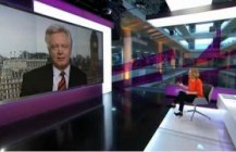 David Davis talks to Channel 4 in the wake of Nigel Evans cleared of sex offences