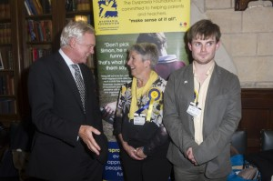 Drinks reception at Houses of Parliament for The Dyspraxia foundation