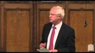 David Davis' speech in Parliament during the debate on the Recall Bill