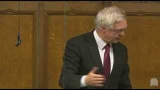 David Davis makes an intervention during the Parliamentary debate on the Recall Bill