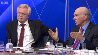 David Davis appears on BBC Question Time