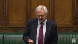 David Davis asks the Government about potential breaches of the Wilson Doctrine in Parliament
