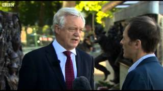 David Davis comments on Britain's outdated surveillance policy on Newsnight