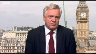 David Davis comments on the end of wind turbine subsidies on BBC Look North