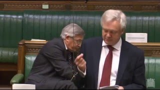 David Davis leads a Parliamentary debate calling for the publication of the Iraq War Inquiry Report