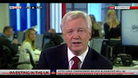 David Davis discusses the foreign direct investment in the EU Referendum debate on Sky News