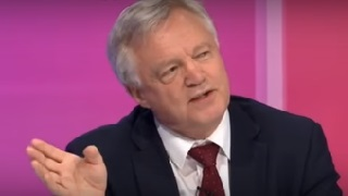 David Davis MP appears on BBC Question Time
