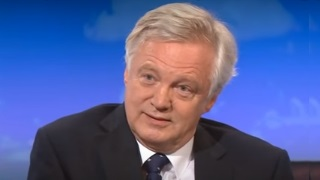 David Davis MP appears on BBC Daily Politics