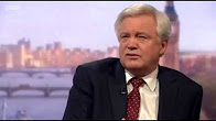 David Davis MP on The Andrew Marr Show discussing Brexit