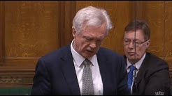 David Davis MP questions the Prime Minister about the backstop