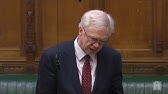 David Davis MP asks a question about business in Scotland