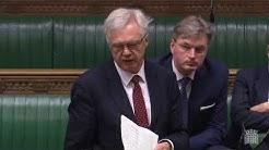 David Davis MP asks question about Health Assessments