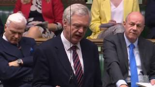 David Davis MP questions the Home Office on the inclusion of Greenpeace and PETA in anti-terror lists