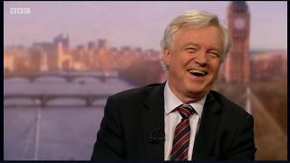 David Davis MP appears on the Andrew Marr Show discussing the Government's decsion on Huawei and recent approach to Whitehall