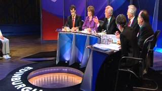 David on Question Time- Edinburgh 4/11/2010 Part 1